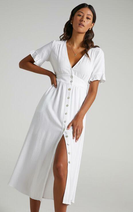 Gabbi Dress in White