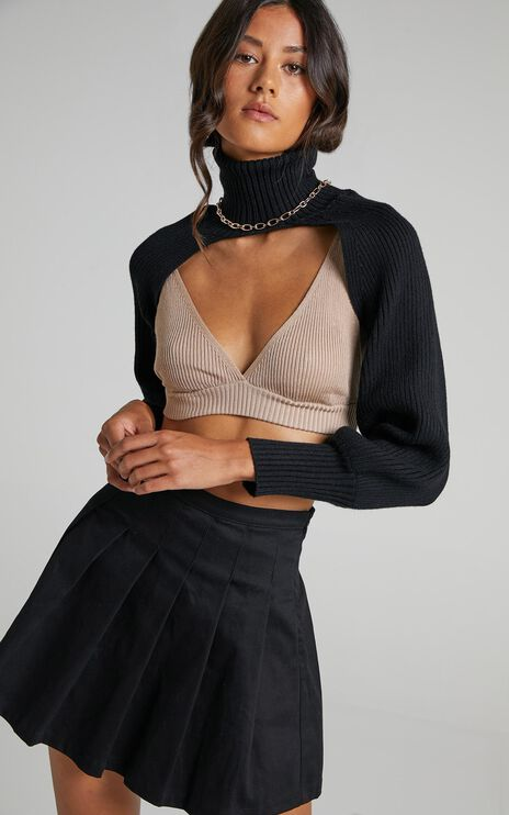 Jazzie Knit Jumper in Black