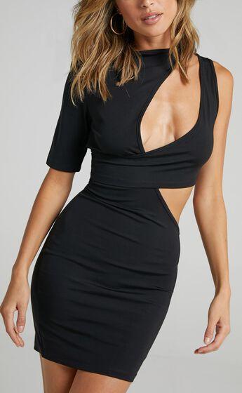Lioness - Wylde Mini Dress in Black
