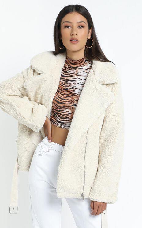 Lioness - On The Road Jacket in Cream