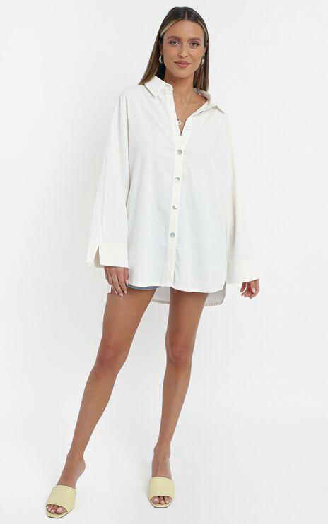 Deserae Shirt in White