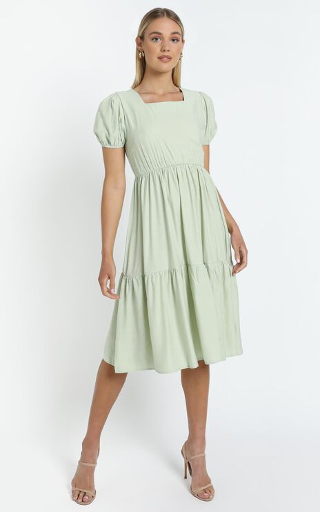 Juliette Dress in Green
