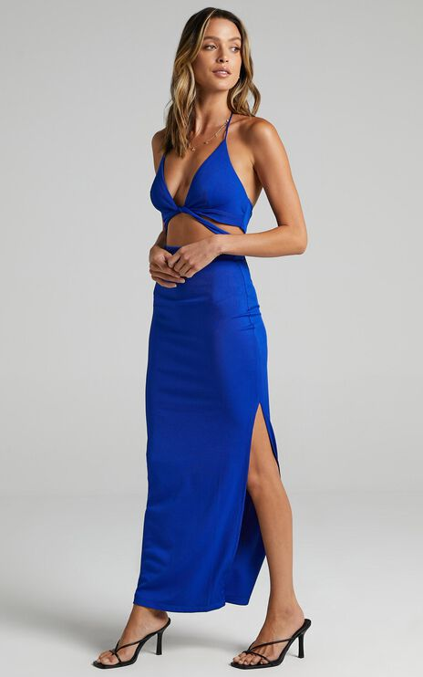 Aaron Two Piece Set In Blue