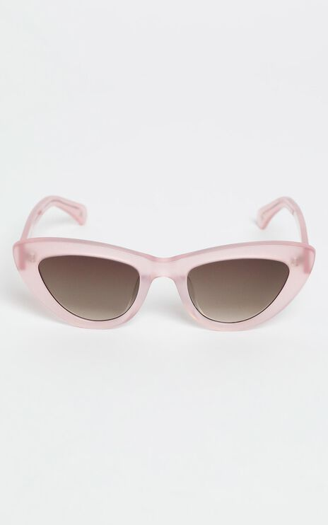Oscar & Frank - The Duomo Sunglasses in Pastel Pink