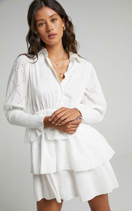 Renae Dress in White