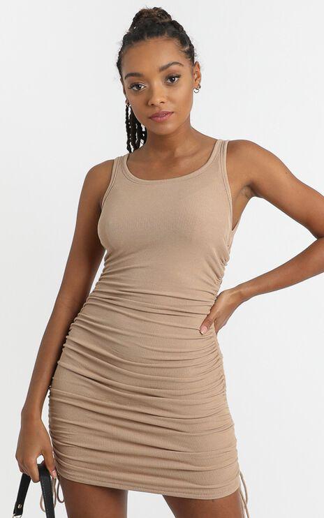 Kailey Dress in Tan