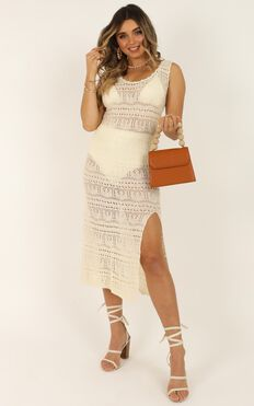 Come As Yourself Dress In Cream