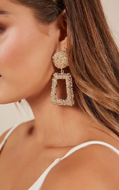 To The Stars Earrings In Gold , Gold, hi-res image number null