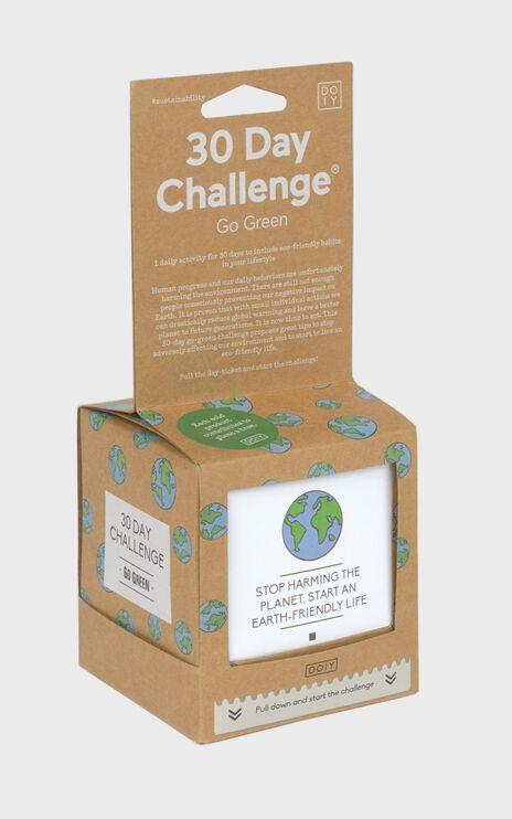 Doiy: 30 Day Challenge Go Green