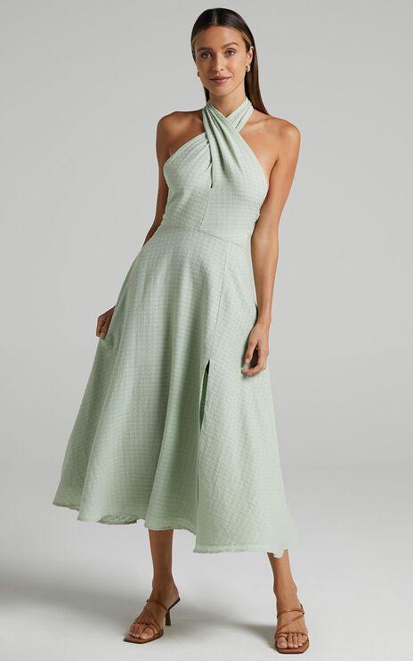 Malatya Dress in Sage