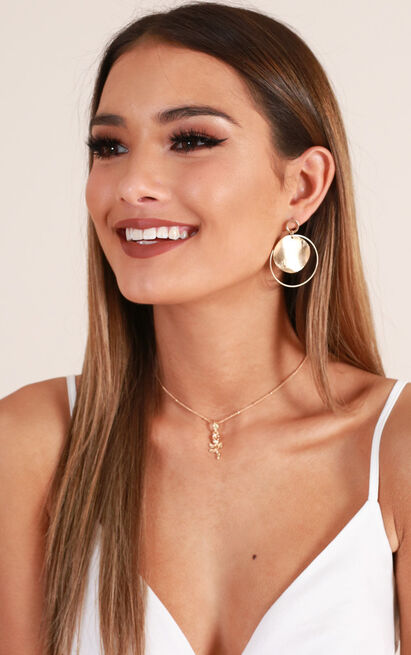 Promise Me earrings in gold, , hi-res image number null