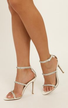 Billini - Talia Heels In White Pearl