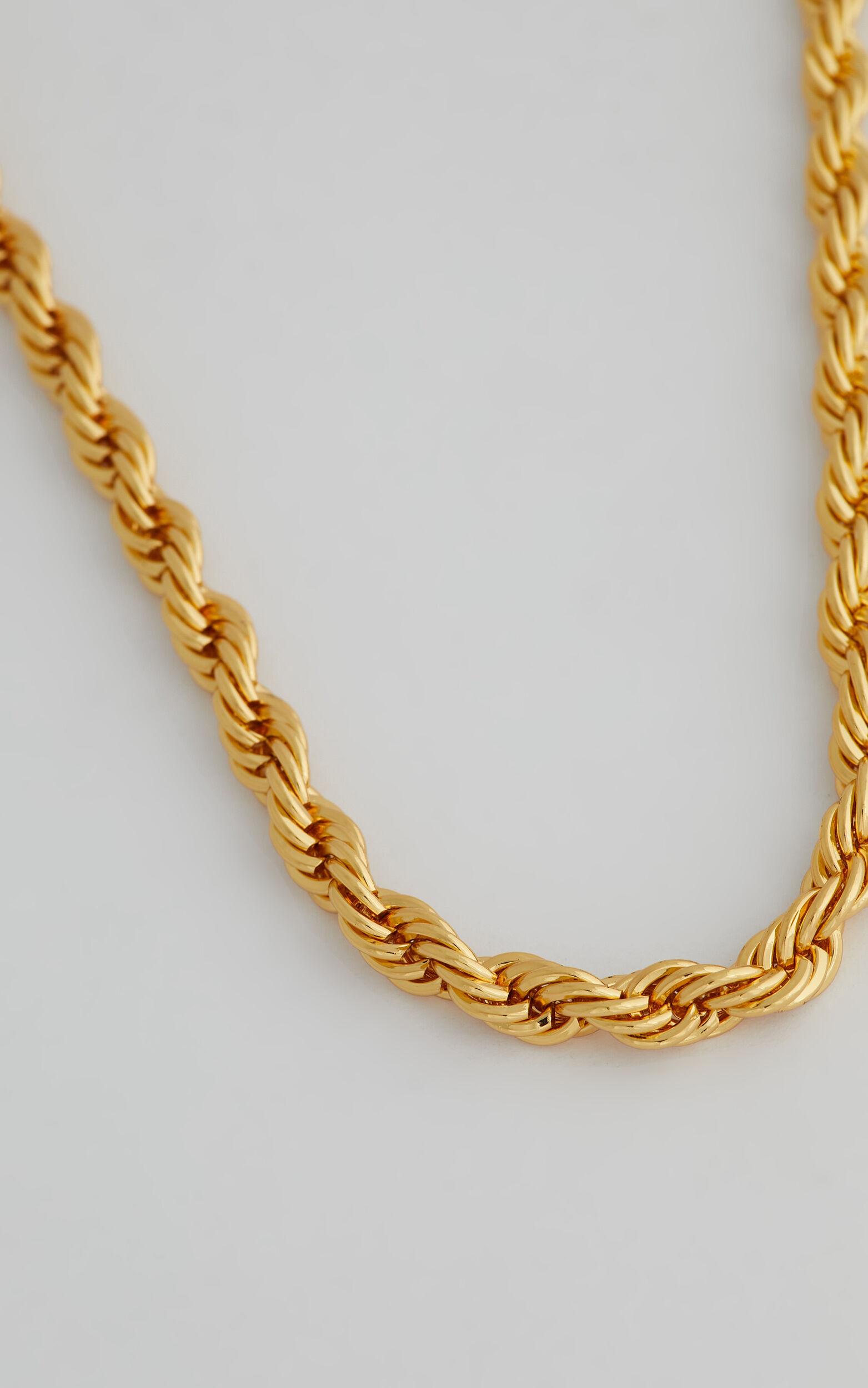Vivi Chain Necklace in Gold - NoSize, GLD1, super-hi-res image number null