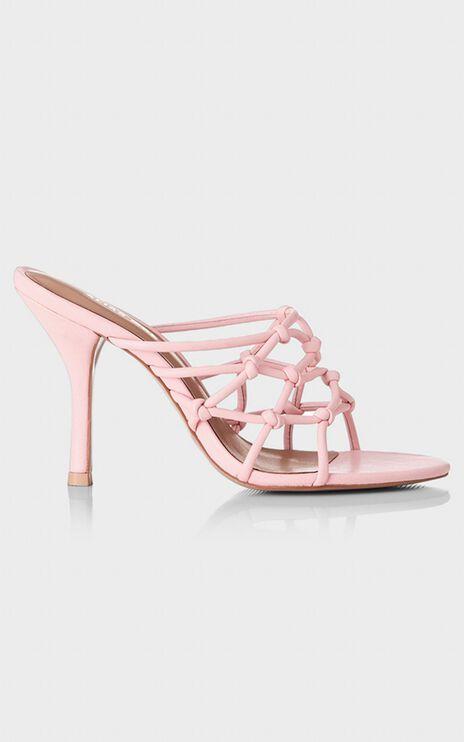 Alias Mae - Meg Heels in Pink Leather