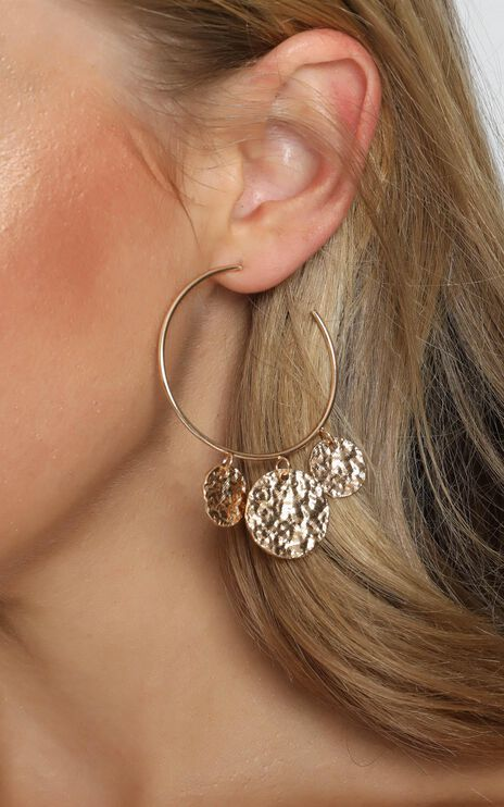Season Ahead Drop Earrings in Gold