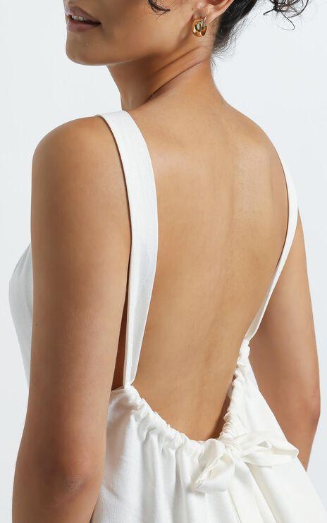 Sylvi Dress in White
