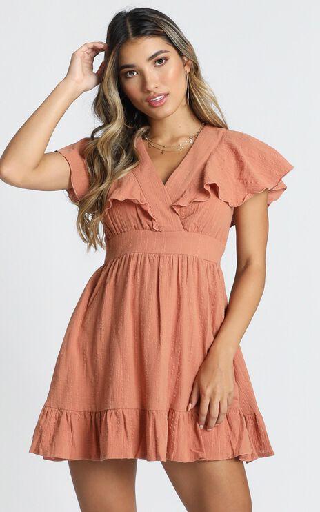 Keep Watching Dress In Rust
