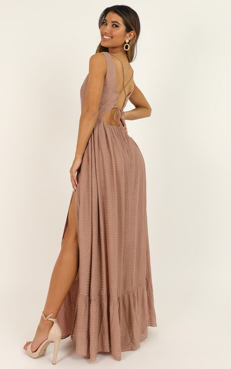 Im Gonna Live Like Tomorrow Doesnt Exist Dress In Dusty Rose