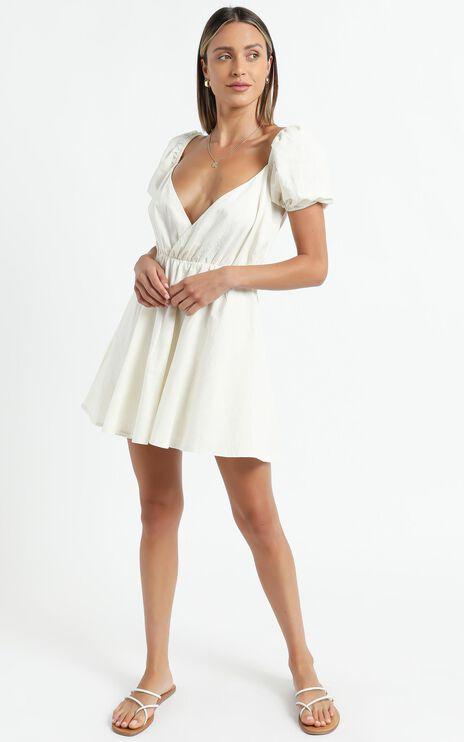 Kamali Dress in Off White