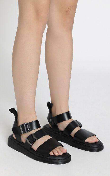 Dr. Martens - Gryphon Strap Sandal in Black
