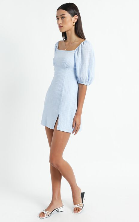 Electric Babe Dress in Blue
