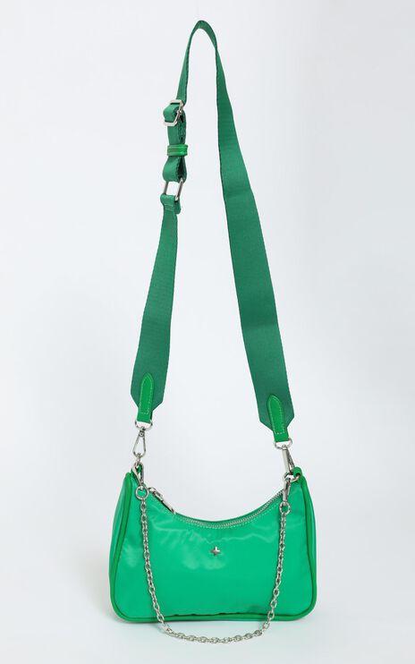 Peta and Jain -  Paloma Bag in Green Nylon