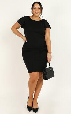 Dream Job Dress In Black