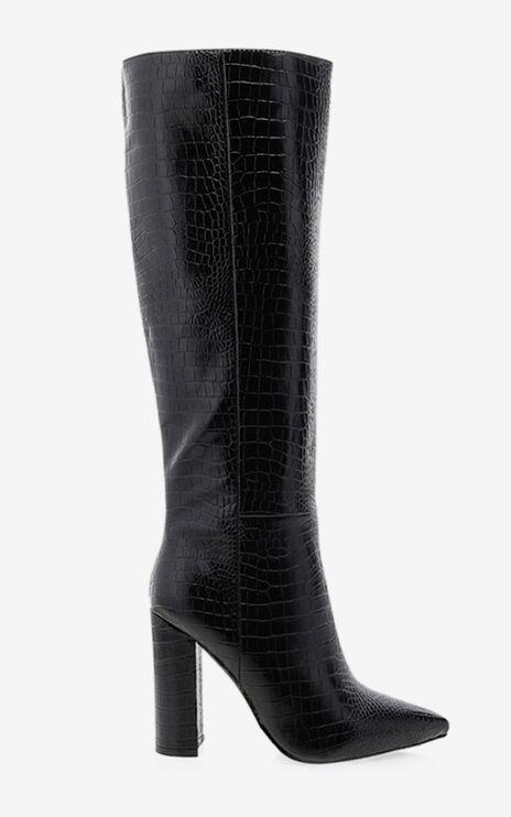 Billini - Milla Boots in Black Croc