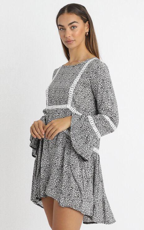 Edina Dress in Leopard