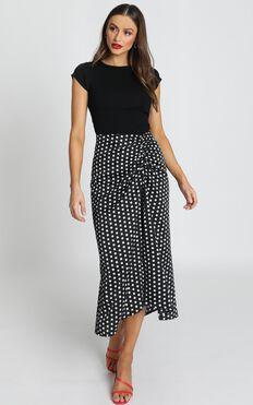Wasnt Me Skirt In Black Spot