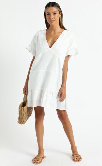 Florida Dress in White