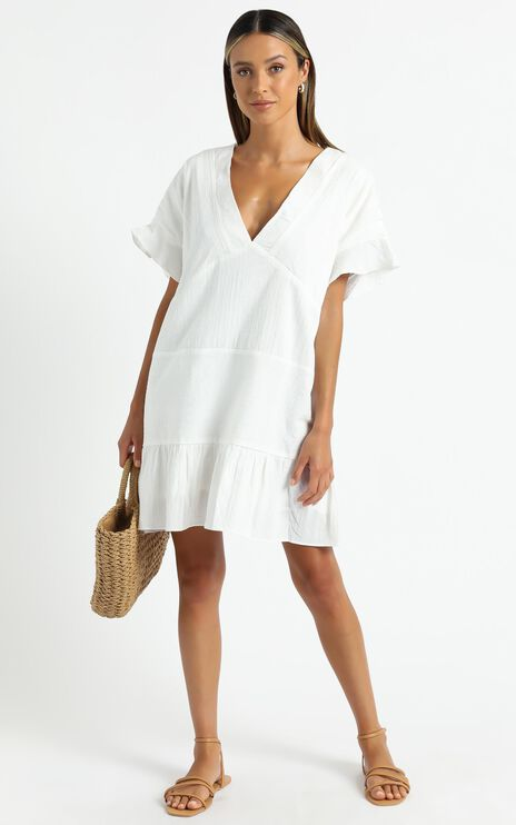 Florida Dress in White