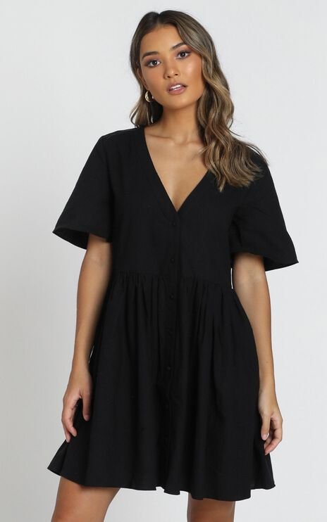Staycation Dress in Black