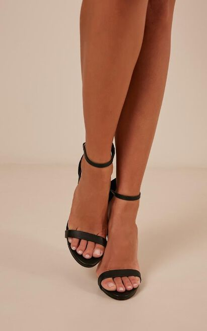Billini - Dimity heels in black - 10, Black, hi-res image number null