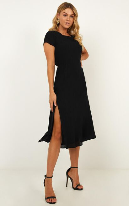 Girl Of The Night Dress In black - 14 (XL), Black, hi-res image number null