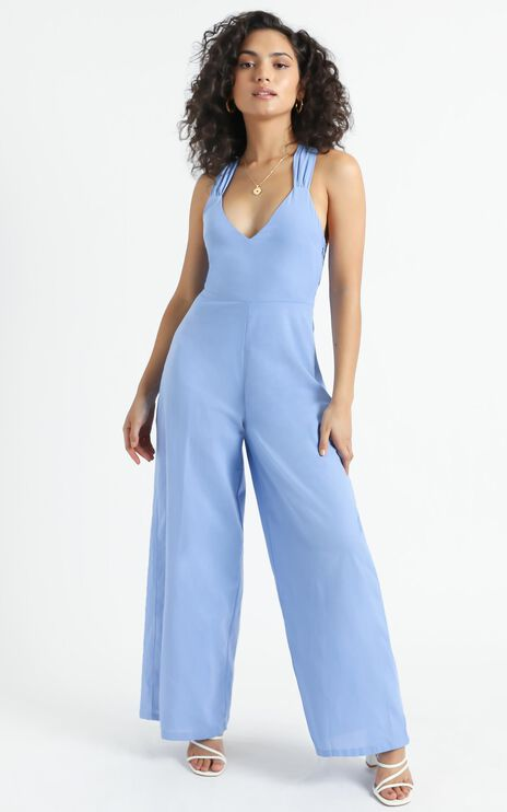 Vous Jumpsuit in Blue