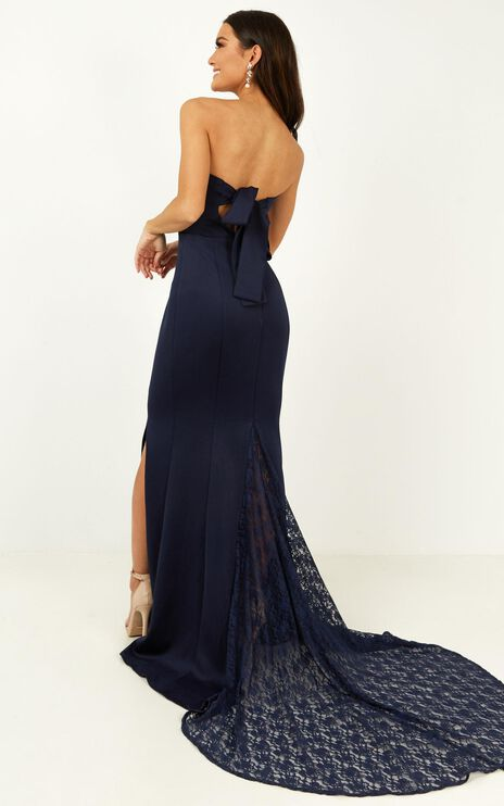 Always Will Love You Dress In Navy