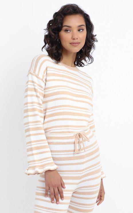Denisa Jumper in Peach Stripe