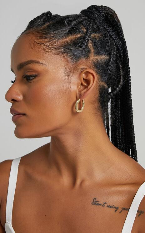 Corty Earrings in Gold
