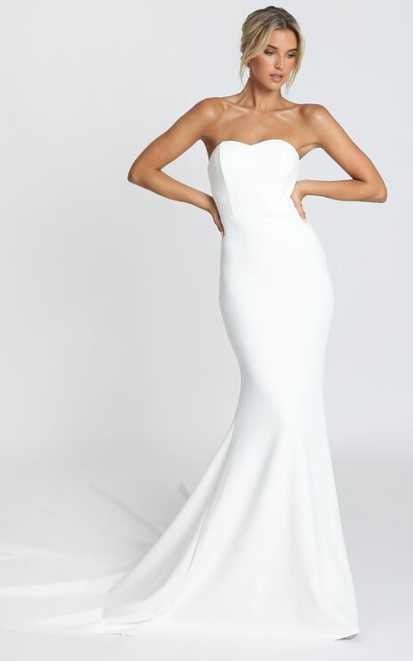 Vows For Life Gown in White