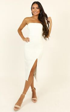 Find Me Where The Wild Things Are Dress In White