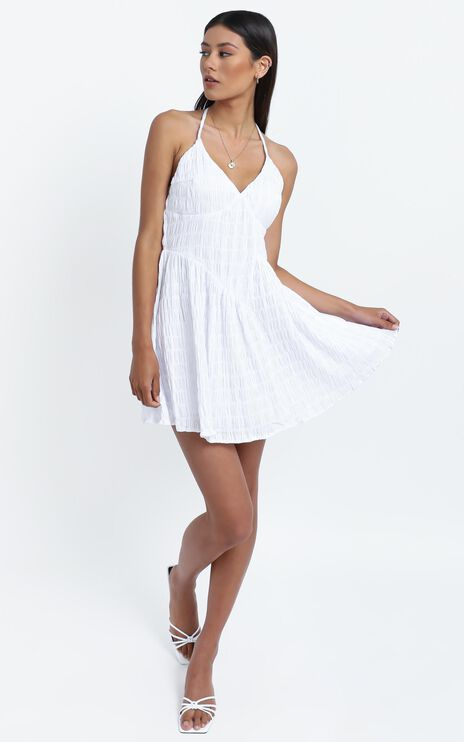 Mystic Dress in White