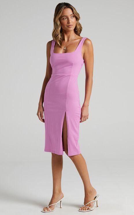 Carley Dress in Purple
