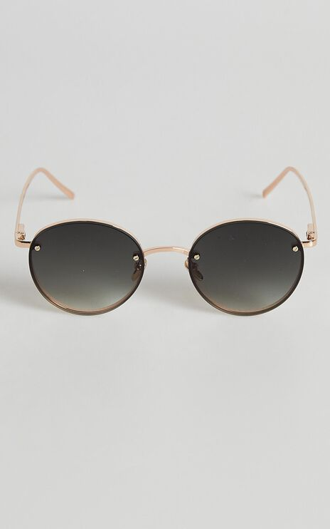 Reality Eyewear - Instant Karma Sunglasses in Gold