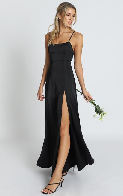 Will It Be Us Dress in black - 12 (L), Black, hi-res image number null