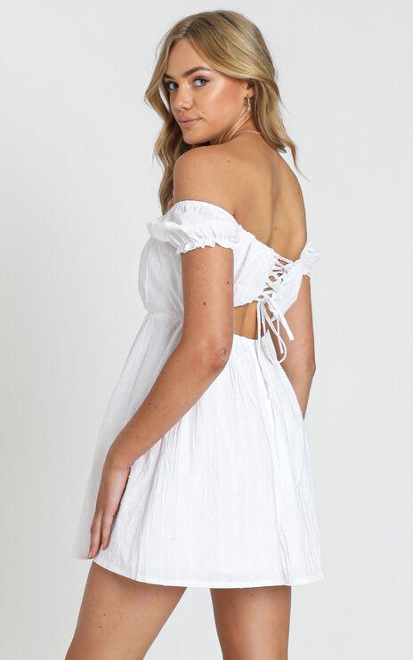 Finding Friends Dress in White