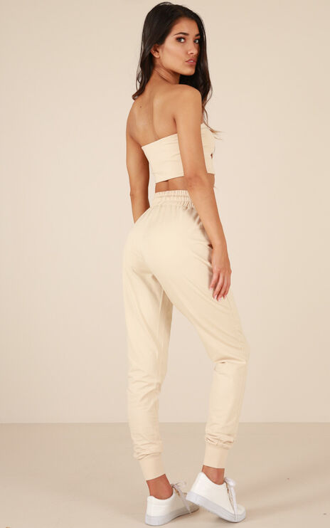 Made For This Pants In Nude