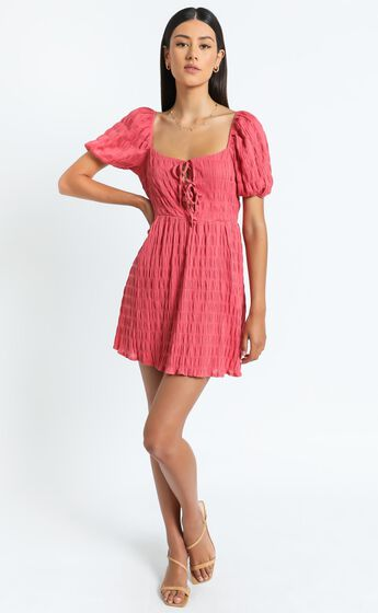 Mirabella Dress in Watermelon
