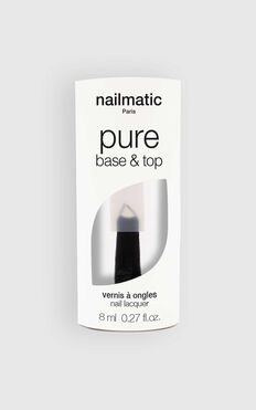 Nailmatic - Pure Colour 2-in-1 Base and Top Coat Nail Polish in Clear