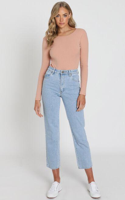 La Moda Bodysuit In blush - 20 (XXXXL), Blush, hi-res image number null